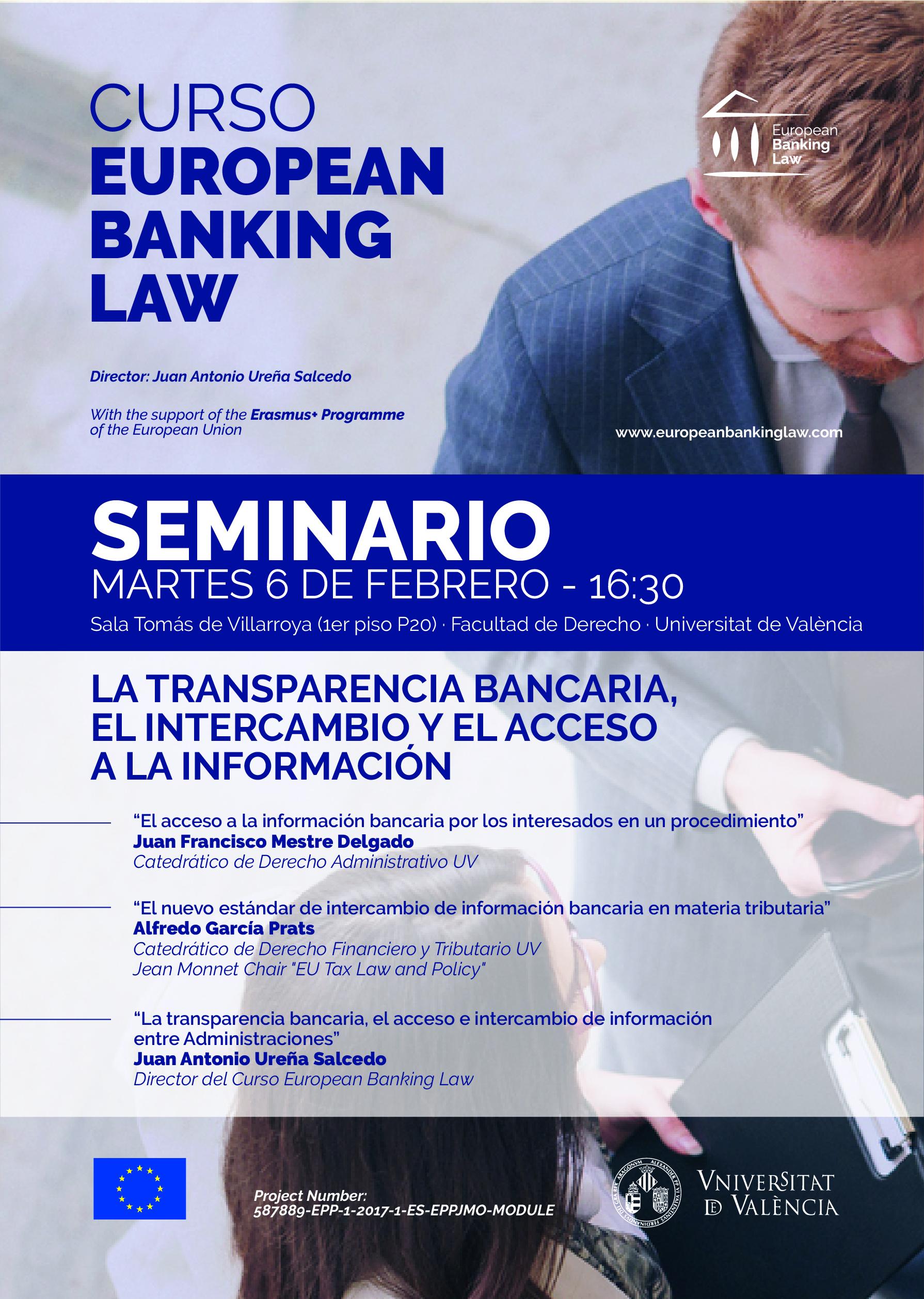 curso european banking law