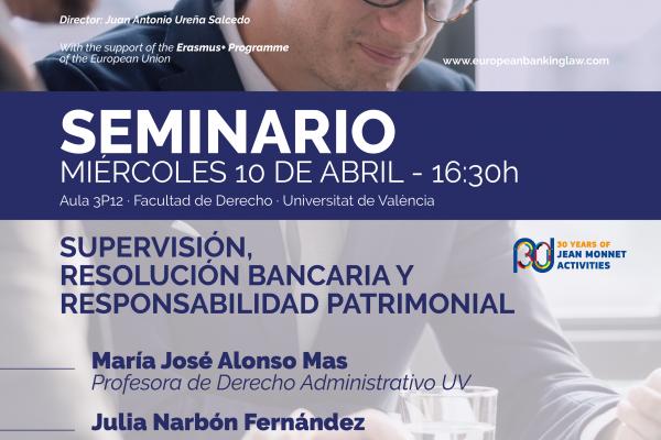 Seminario: Supervisión, resolución bancaria y responsabilidad patrimonial