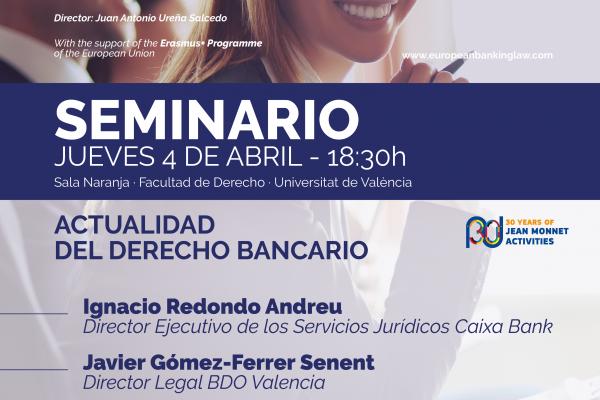 Seminario: Actualidad del derecho bancario