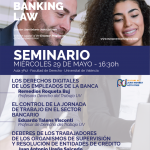 Últimos seminarios curso European Banking Law II