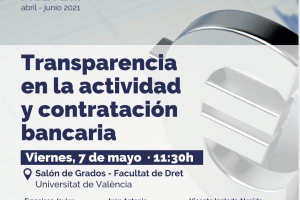 Seminario: Transparencia en la actividad y contratación bancaria